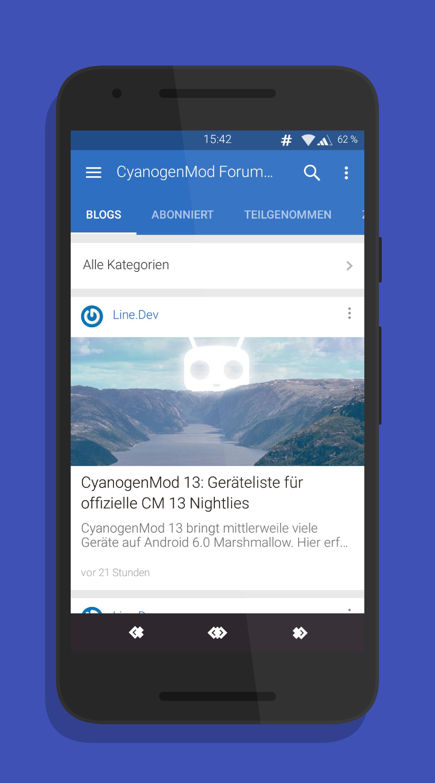 CM Forum App