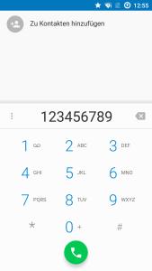 Die Telefon-App