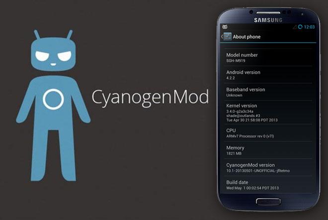 S4 mit CyanogenMod